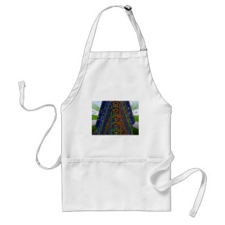 Psychedelic NYC: Top of the Flatiron Building B1 Adult Apron
