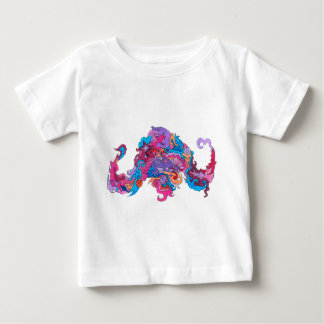 Psychedelic Octopus Baby T-Shirt