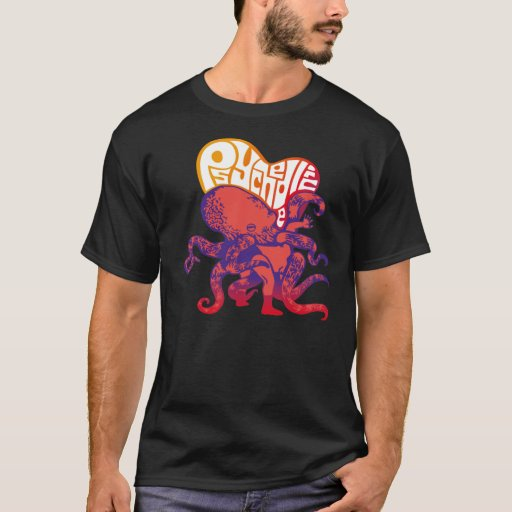 psychedelic octopus T-Shirt