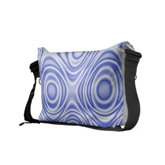 Psychedelic Optical Illusion: Omnipresent Blue Eye rickshawmessengerbag