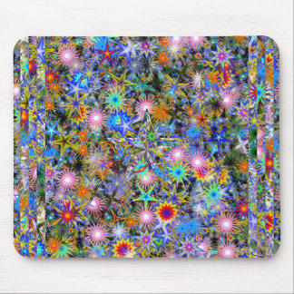 Psychedelic Overdose Mouse Pad