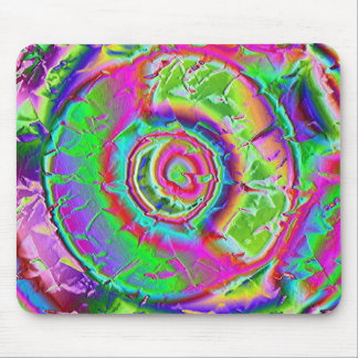 Psychedelic Painting Mouse Pad