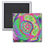 Psychedelic Painting Refrigerator Magnets
