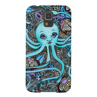 Psychedelic Party at Sea Galaxy S5 Cases