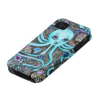 Psychedelic Party at Sea iPhone 4 Cover