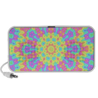Psychedelic Pastels iPod Speaker