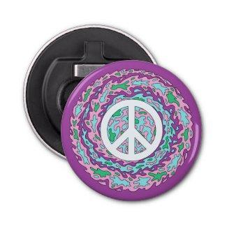 Psychedelic Peace Bottle Opener
