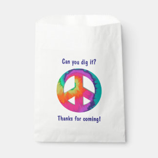 Psychedelic Peace Favor Bag