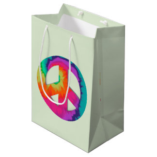 Psychedelic Peace Medium Gift Bag
