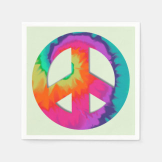 Psychedelic Peace Paper Napkin