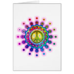 PSYCHEDELIC PEACE SIGN CARDS
