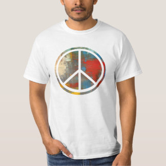 Psychedelic Peace Sign Shirt
