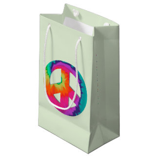 Psychedelic Peace Small Gift Bag