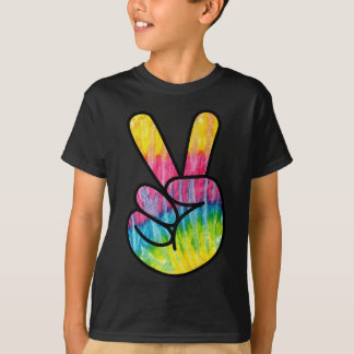 Psychedelic Peace Symbol T-Shirt