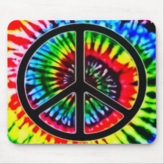 Psychedelic Peace Theory Art Mouse Pad