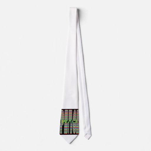 psychedelic peace tie