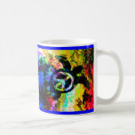 Psychedelic Peace Turtles Mugs
