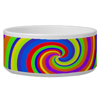 Psychedelic Pet Bowl