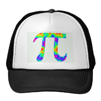 Psychedelic Pi Sign Trucker Hat