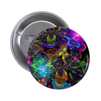 Psychedelic Pinback Button