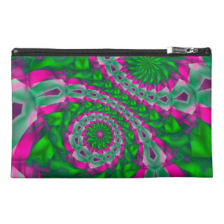 Psychedelic Pink+Green Neon Trip Travel Accessory  Travel Accessory Bag