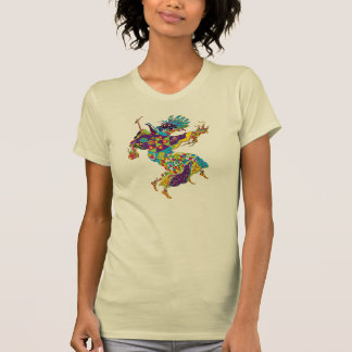 Psychedelic Plague Doctor T Shirt