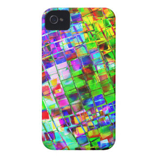 Psychedelic Planet Disco Ball iPhone 4 Cover
