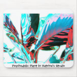 Psychedelic Plant Mouse Mats