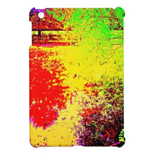 Psychedelic Pond Cover For The iPad Mini