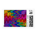 Psychedelic Postage Stamp