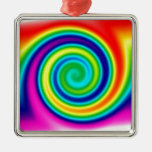 Psychedelic Prints Christmas Ornament