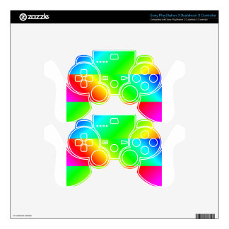 PSYCHEDELIC PS3 CONTROLLER SKIN