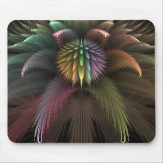 Psychedelic Puff spear Mouse Pad