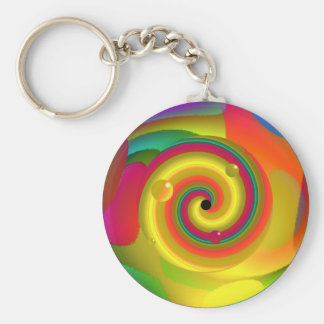 Psychedelic Punch Keychain