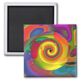 Psychedelic Punch Magnet Refrigerator Magnet