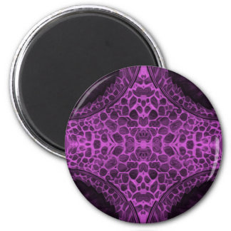 Psychedelic Purple Magnet
