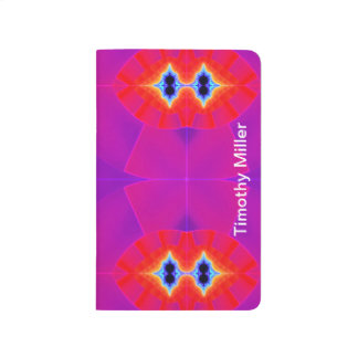 Psychedelic Purple Orange Artwork Journal