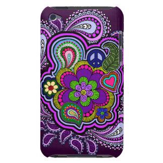 Psychedelic Purple Paisley iPod Case
