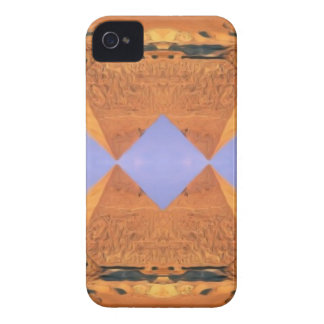 Psychedelic Pyramids iPhone 4 Case-Mate Case