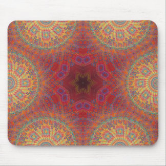 Psychedelic Radial Artwork: Mousepad