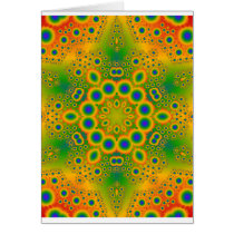 Psychedelic Radial Pattern:
