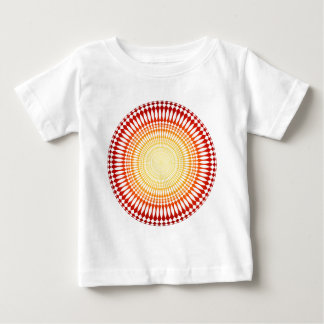 Psychedelic Radial Pattern: Vector Art: T Shirt