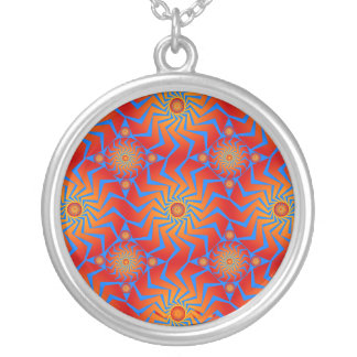 Psychedelic Radial Patterns: Necklace