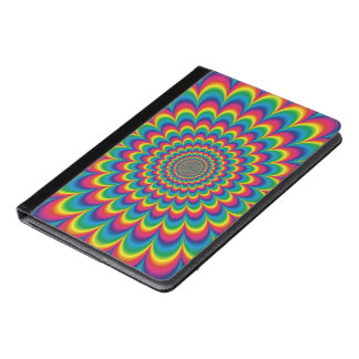 Psychedelic rainbow abstract design