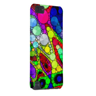 Psychedelic Rainbow Bling Pattern iPod Touch 5G Case