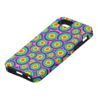 Psychedelic rainbow bubbles iPhone SE/5/5s case