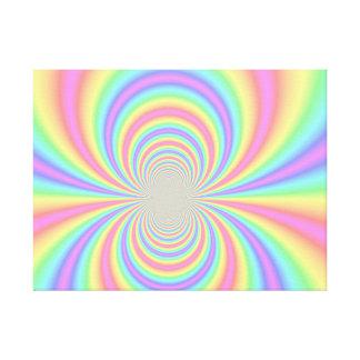 Psychedelic Rainbow Canvas Print