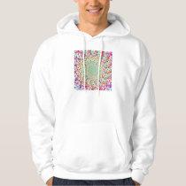 Psychedelic Rainbow Eyes Mandala Hooded Sweatshirt
