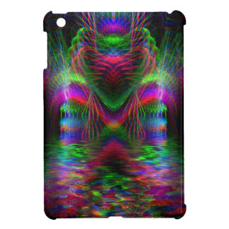 Psychedelic Rainbow Love iPad Mini Case