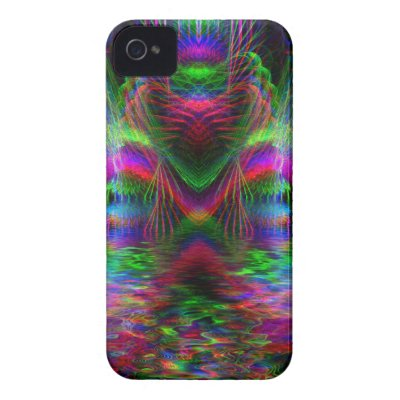 Psychedelic Rainbow LoveHearts CaseMate iPhone 4 casematecase